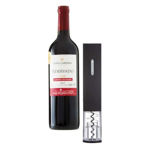 abridor de vinho elétrico
