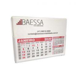 calendário de mesa personalizado