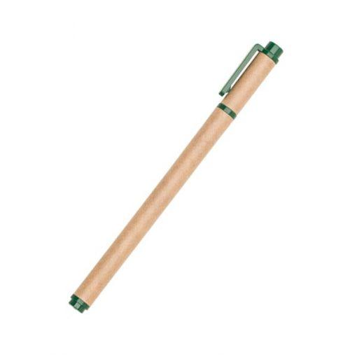 caneta de papel ecológico