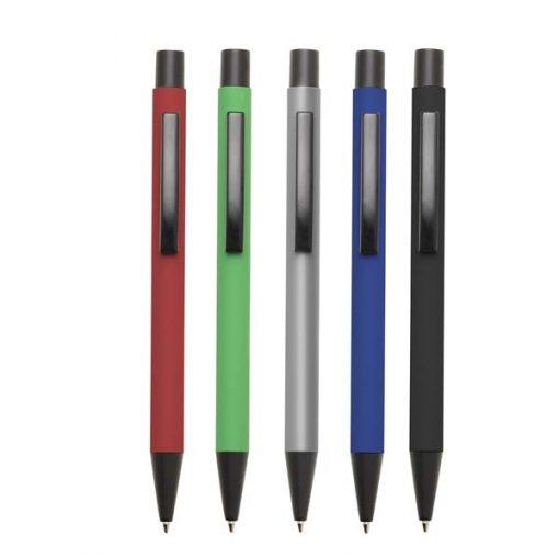 caneta de ponta fina vermelha preta