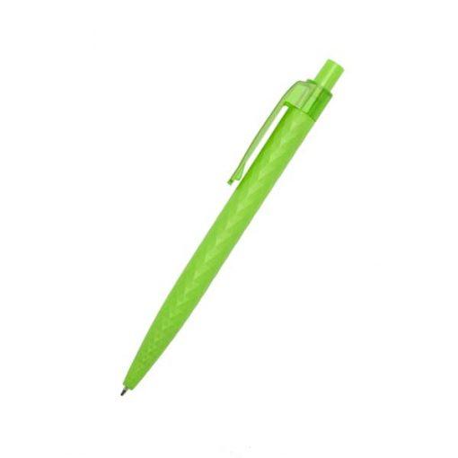 caneta decorada com textura verde
