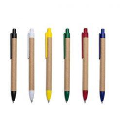 caneta ecologica personalizada varias cores