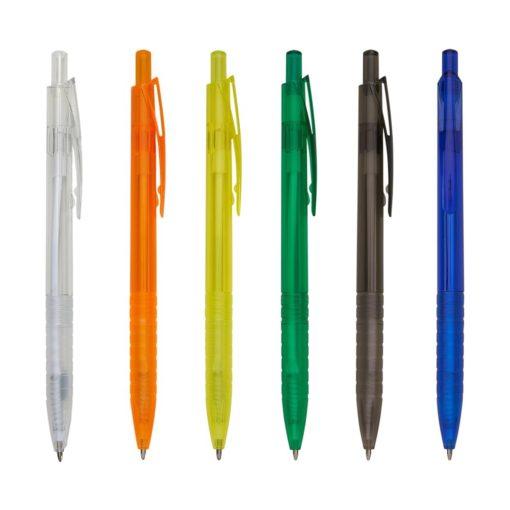 caneta transparente
