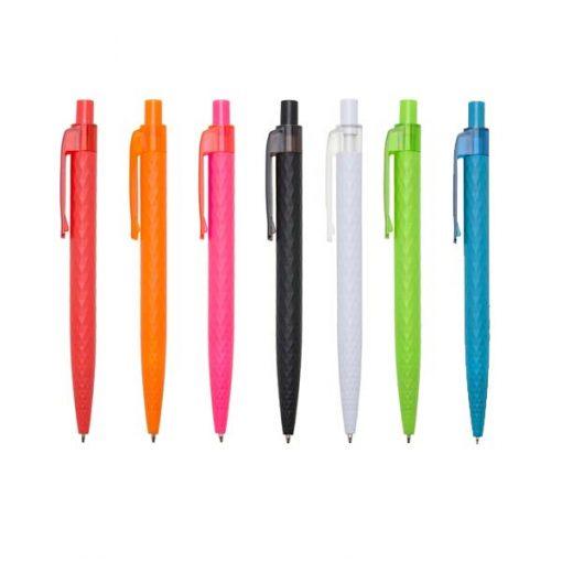 canetas decoradas com textura cor