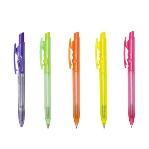 Canetas personalizadas cores neon