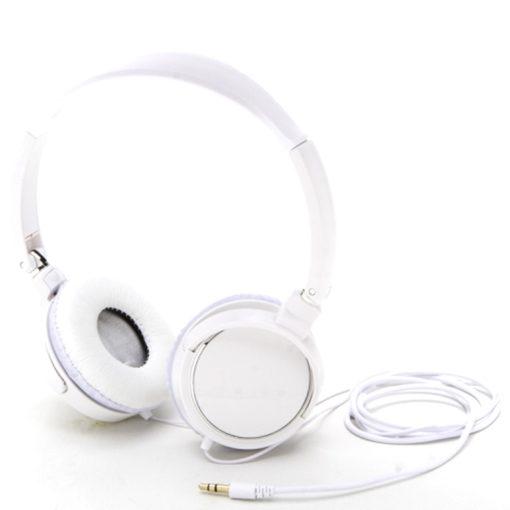 fone de ouvido branco