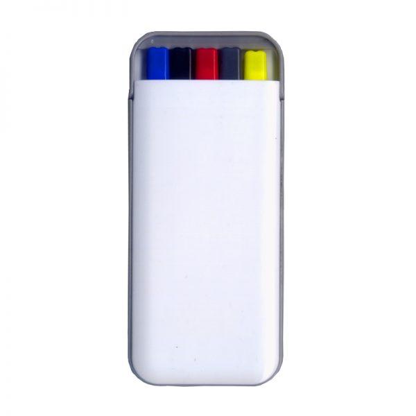 Kit caneta 5 funções em 1