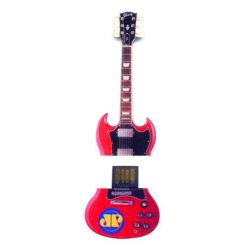 Pen drive em formato especial (Pen drive guitarra) 1