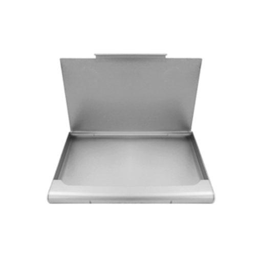 porta cartão de alumínio