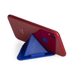 porta celular azul