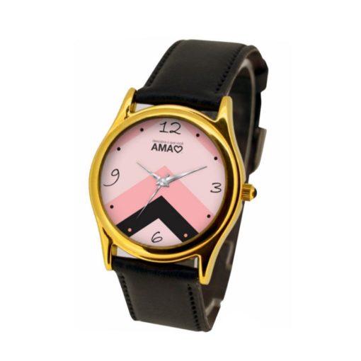 Relógio dourado feminino
